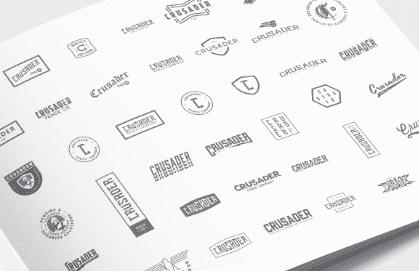 Crusader Fence Logos