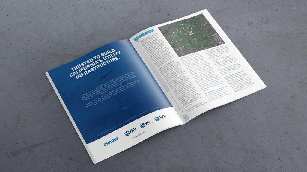 Charge brochure design