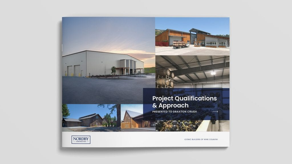 Nordby Construction brochure design