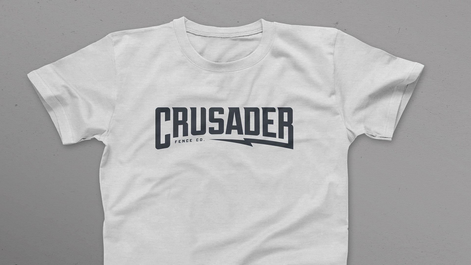 Crusader Fence Company T-shirt design