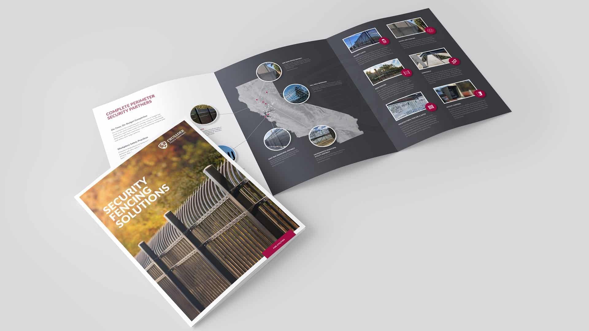 Crusader Fence Company Brochure